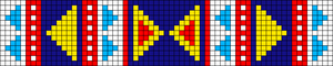 Alpha pattern #10214