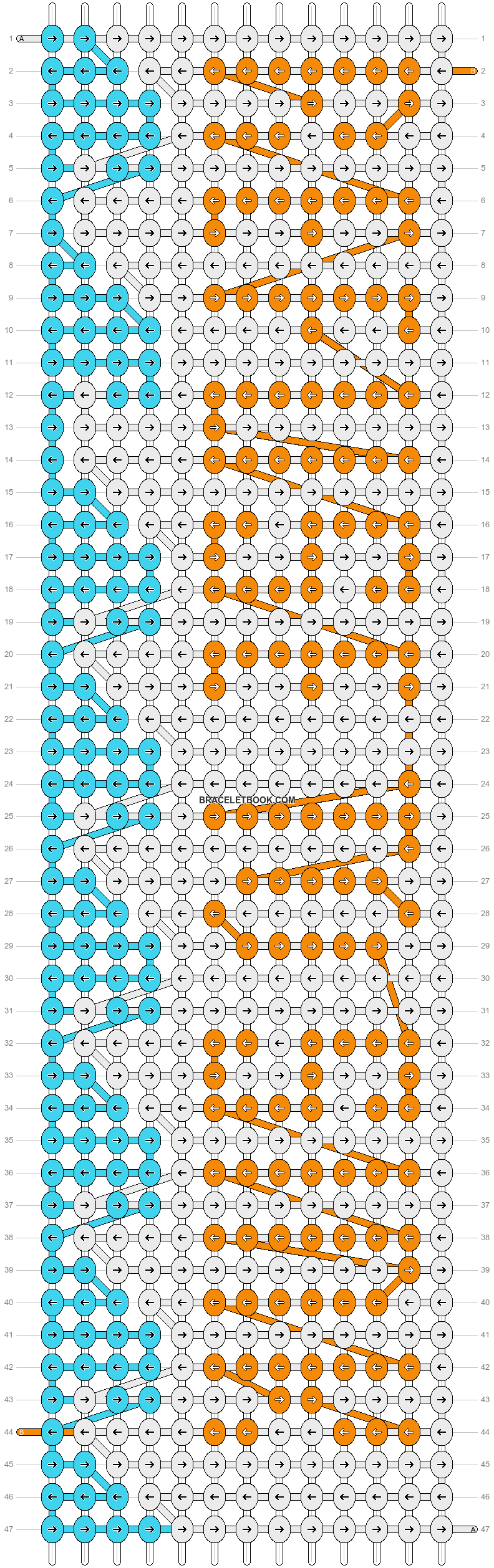 Alpha pattern #10217 pattern