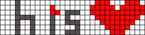 Alpha pattern #10218