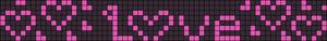 Alpha Friendship Bracelet Pattern #10219