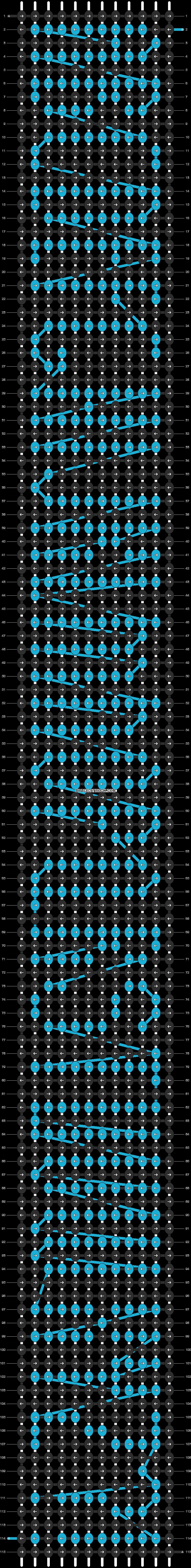 Alpha pattern #10222 pattern