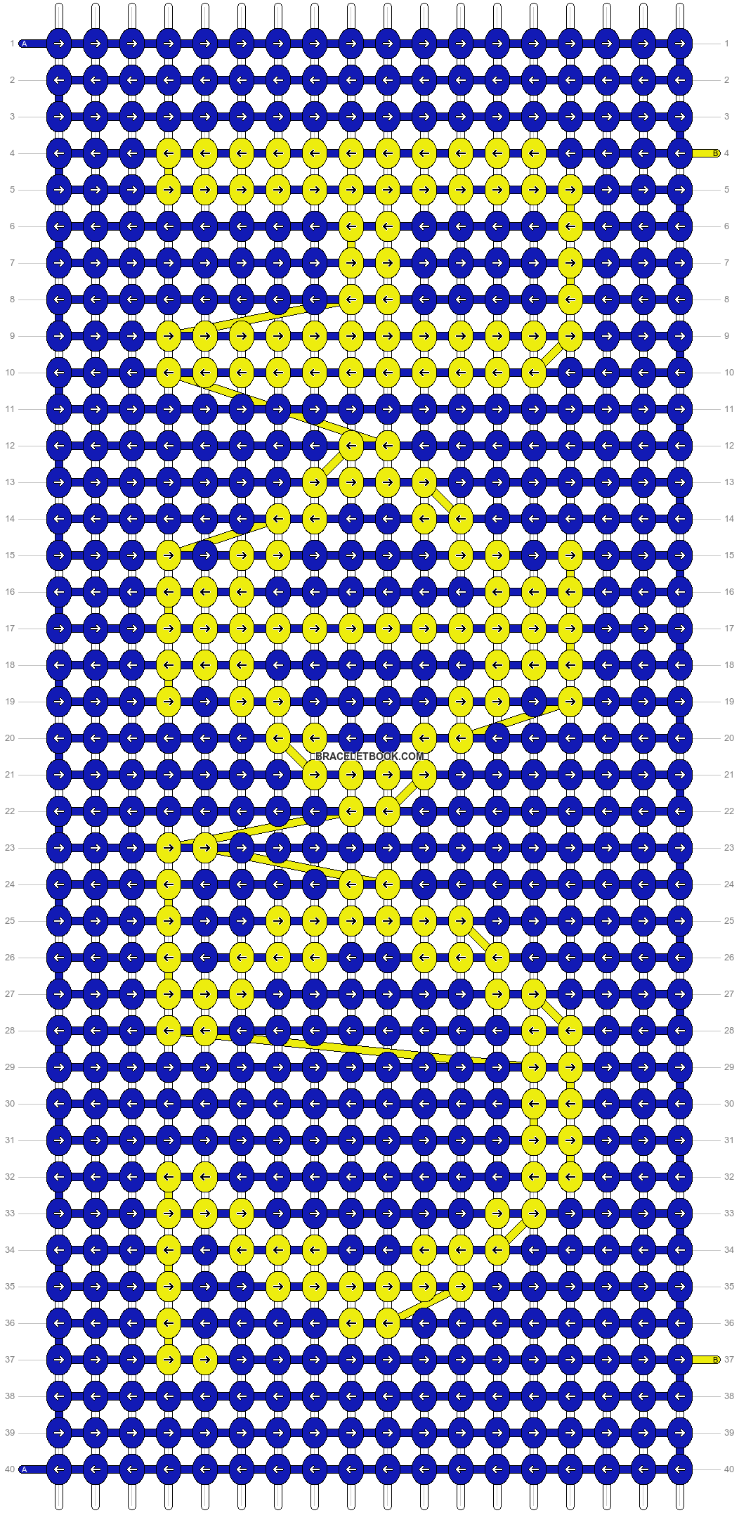 Alpha pattern #10234 pattern