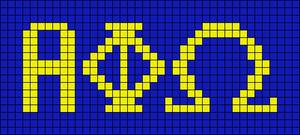 Alpha pattern #10234