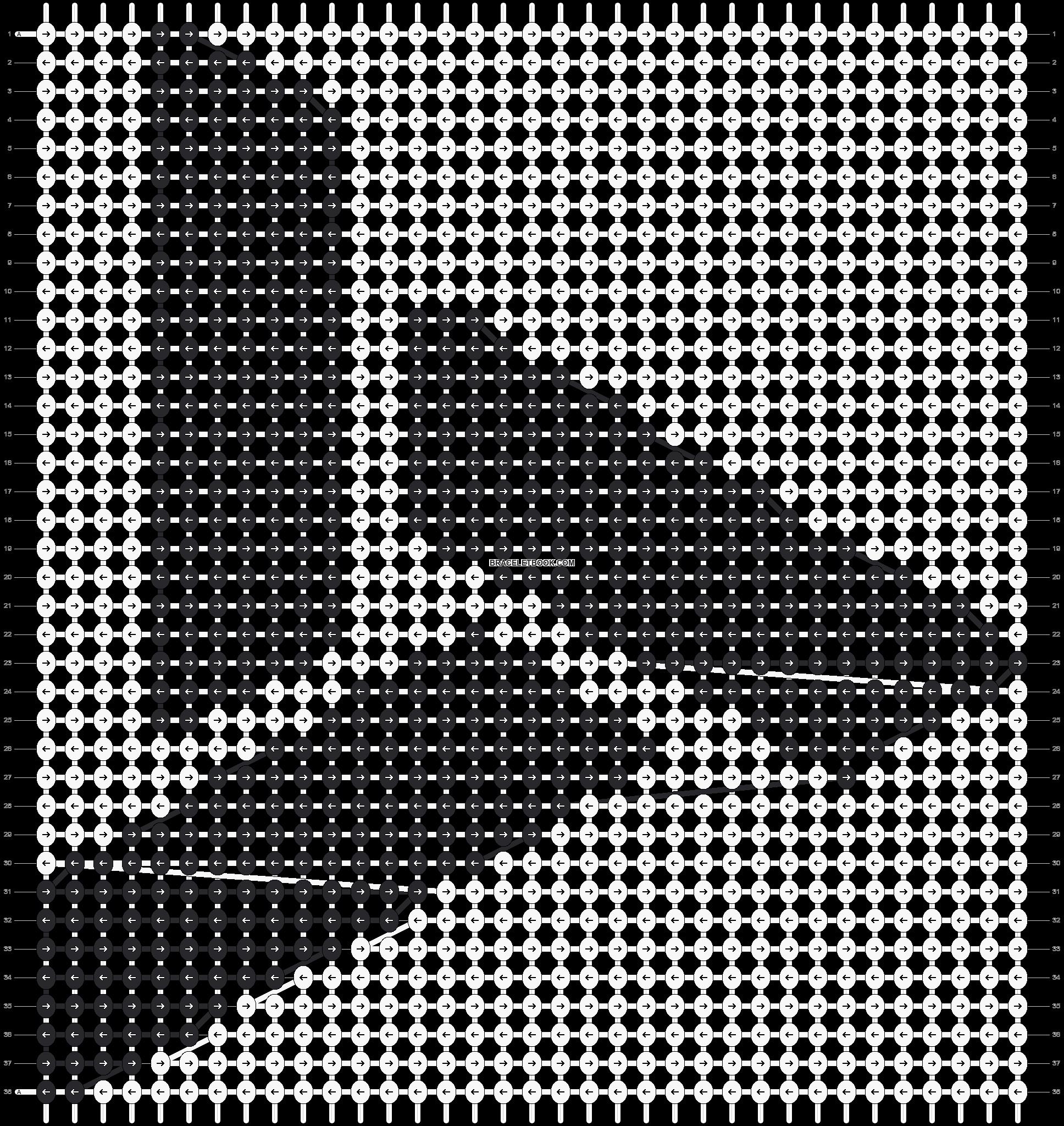 Alpha pattern #10240 pattern