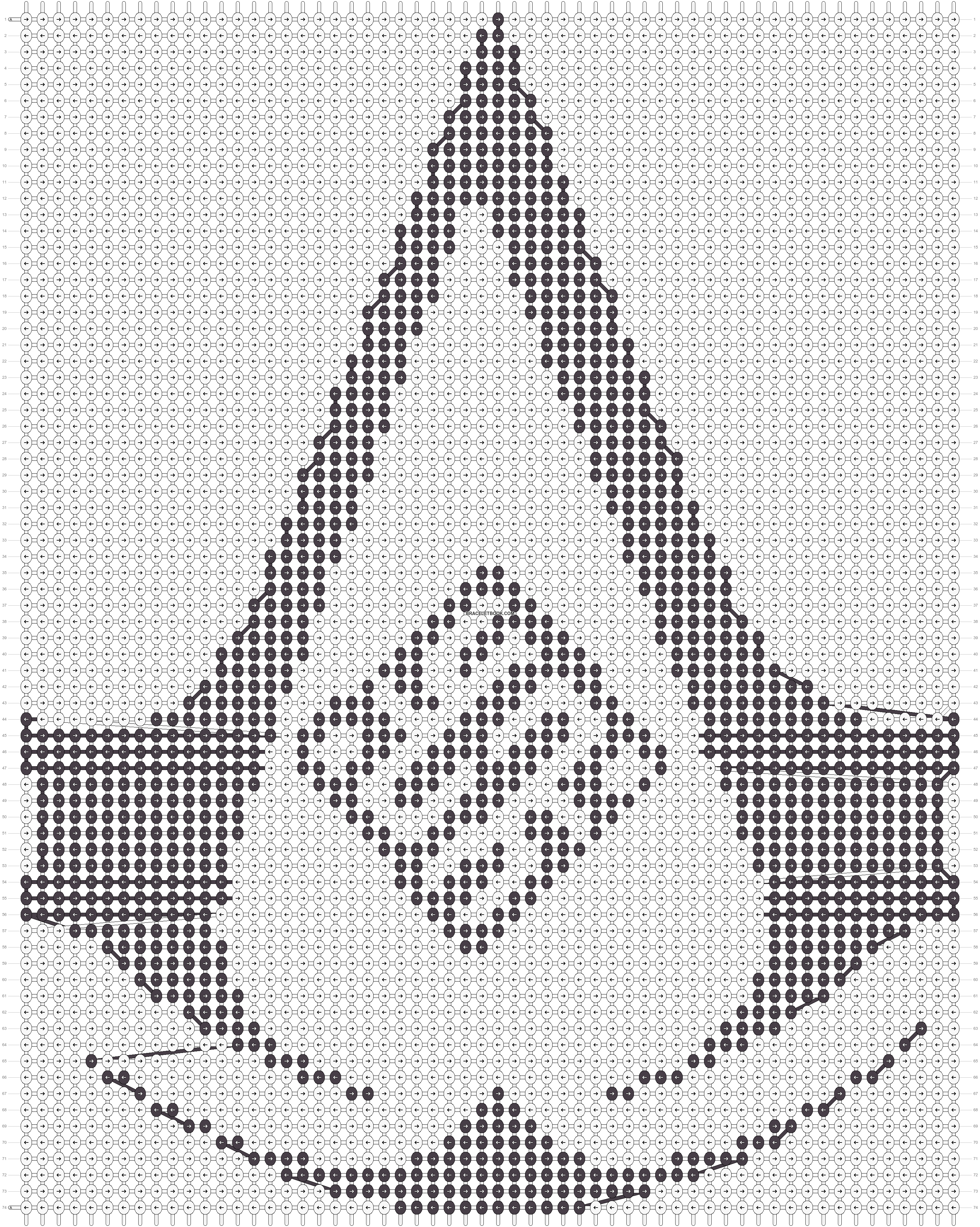 Alpha pattern #10241 pattern