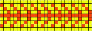 Alpha Friendship Bracelet Pattern #10246