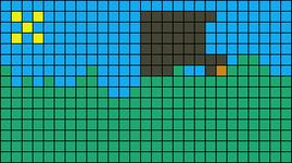 Alpha pattern #10252
