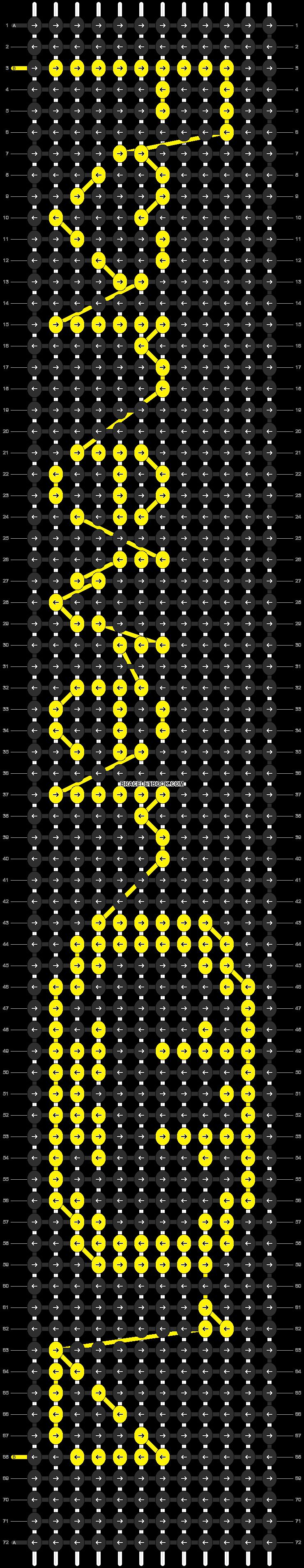 Alpha pattern #10255 pattern