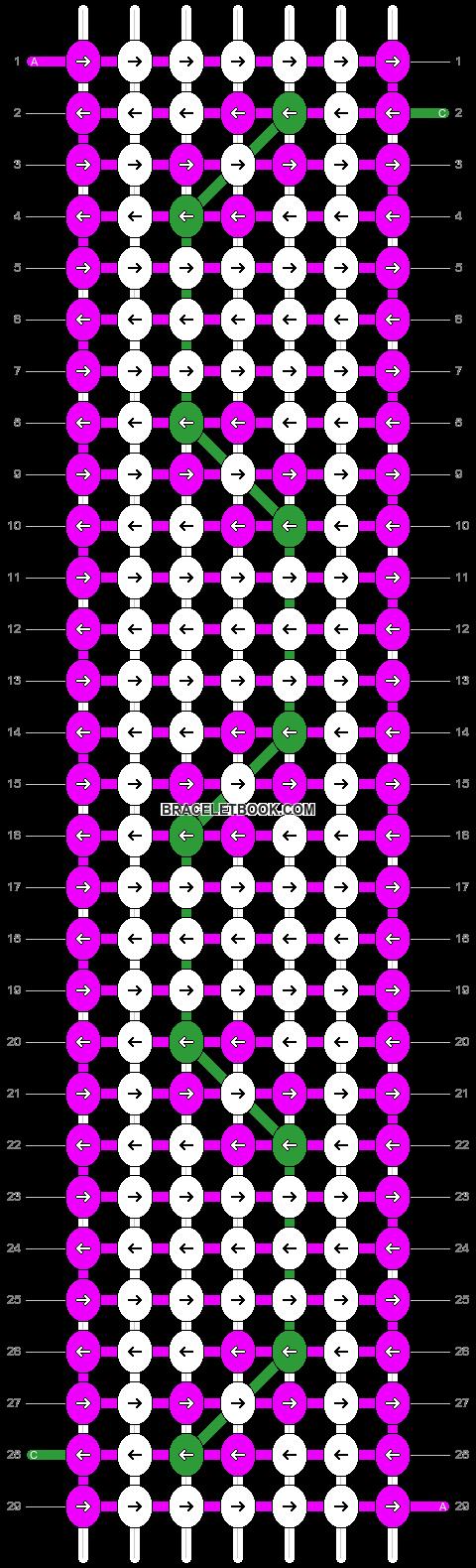 Alpha pattern #10258 pattern