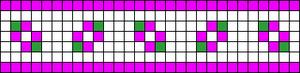 Alpha Friendship Bracelet Pattern #10258