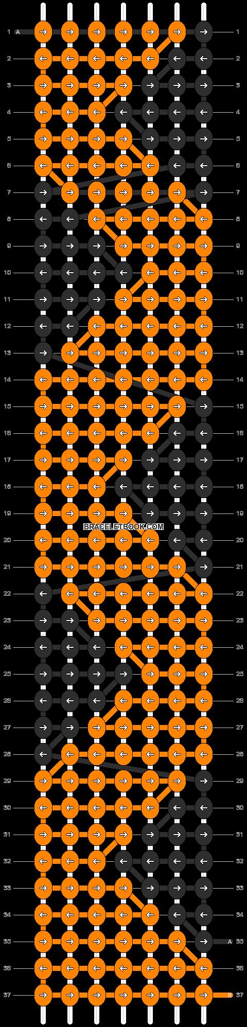 Alpha pattern #10269 pattern