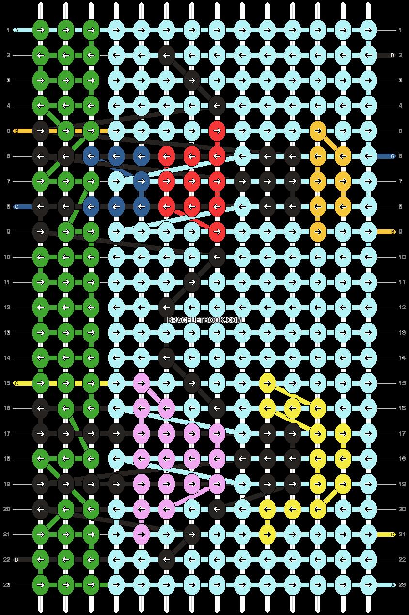 Alpha pattern #10271 pattern