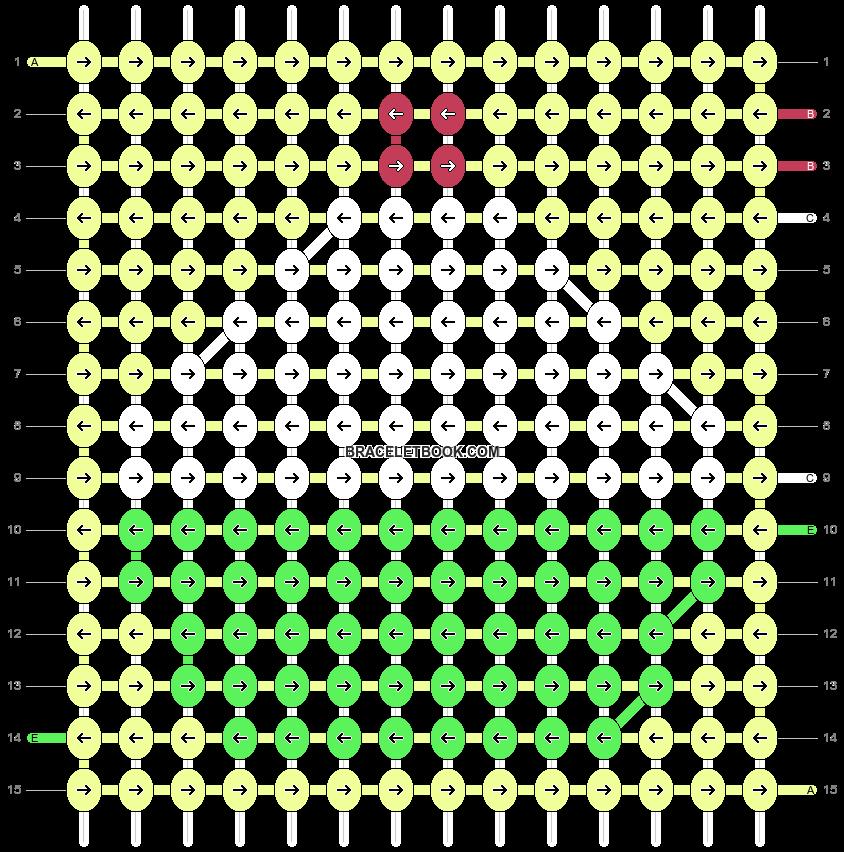 Alpha pattern #10274 pattern