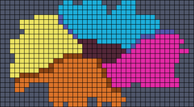 Alpha pattern #10276
