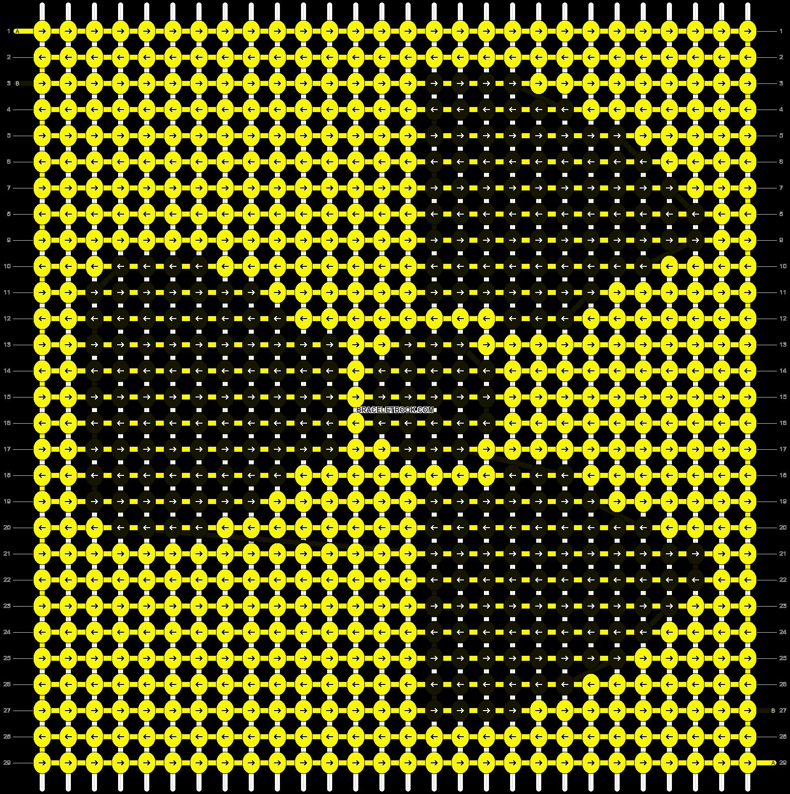 Alpha pattern #10277 pattern
