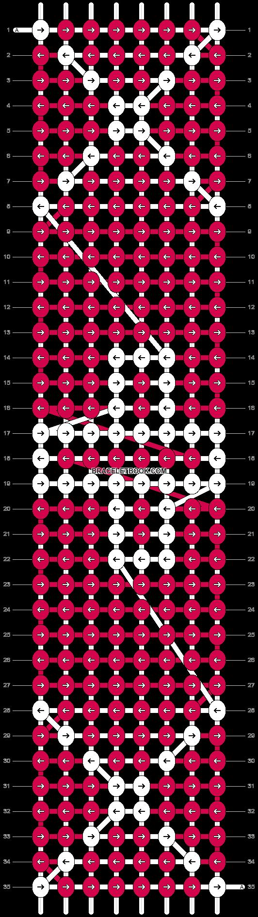 Alpha pattern #10286 pattern