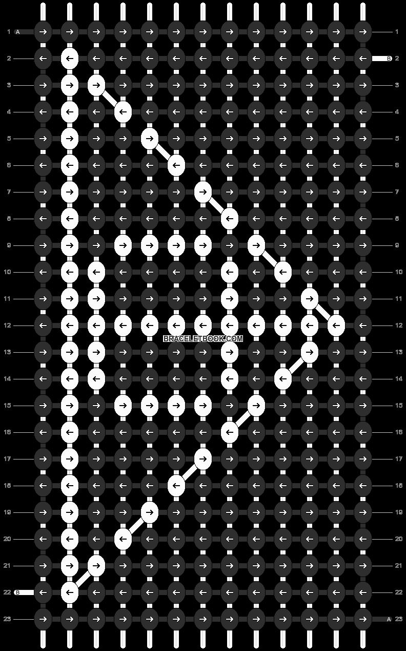Alpha pattern #10287 pattern