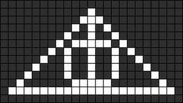 Alpha Friendship Bracelet Pattern #10287