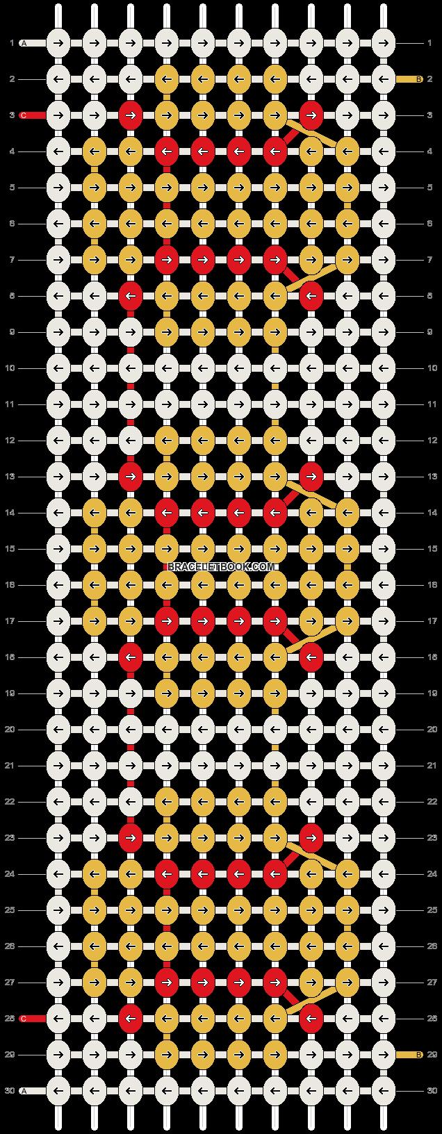 Alpha pattern #10288 pattern