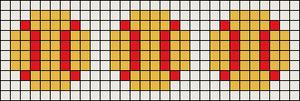 Alpha Friendship Bracelet Pattern #10288