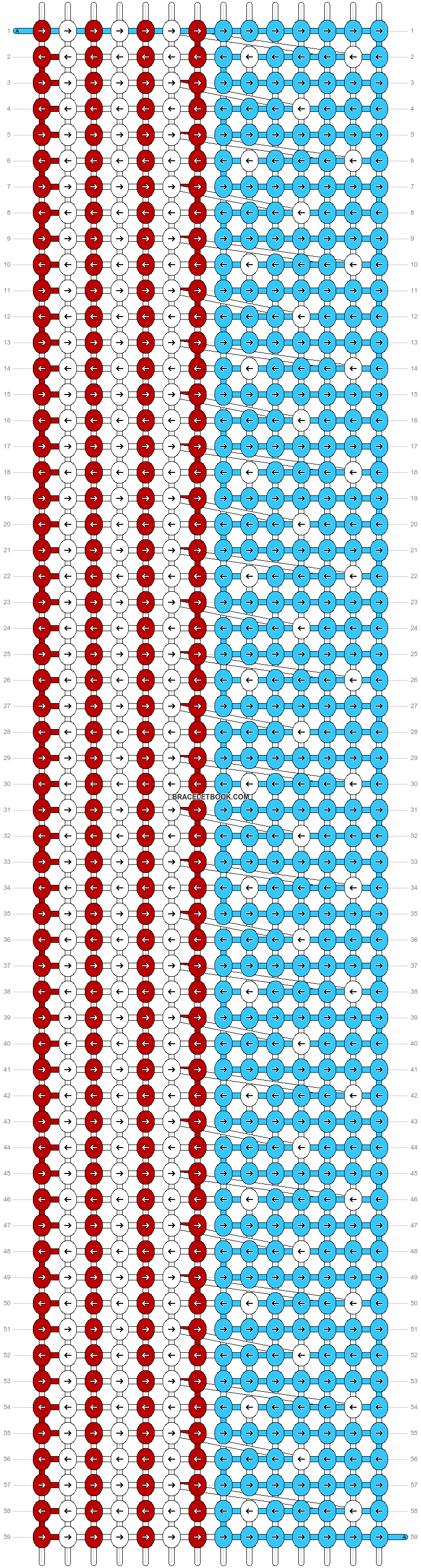Alpha pattern #10294 pattern