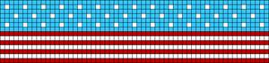 Alpha Friendship Bracelet Pattern #10294
