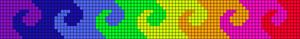 Alpha Friendship Bracelet Pattern #10315