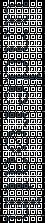 Alpha pattern #10316 pattern