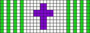 Alpha pattern #10317