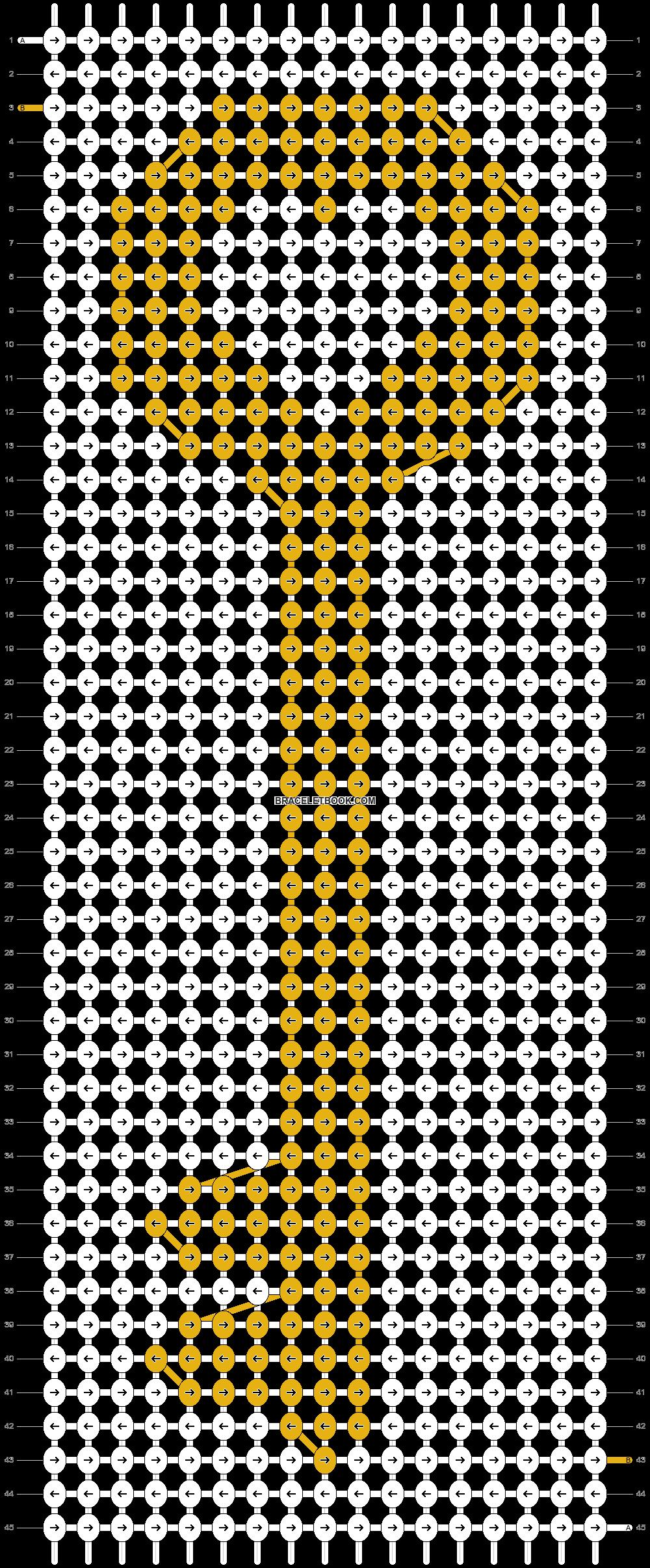 Alpha pattern #10318 pattern