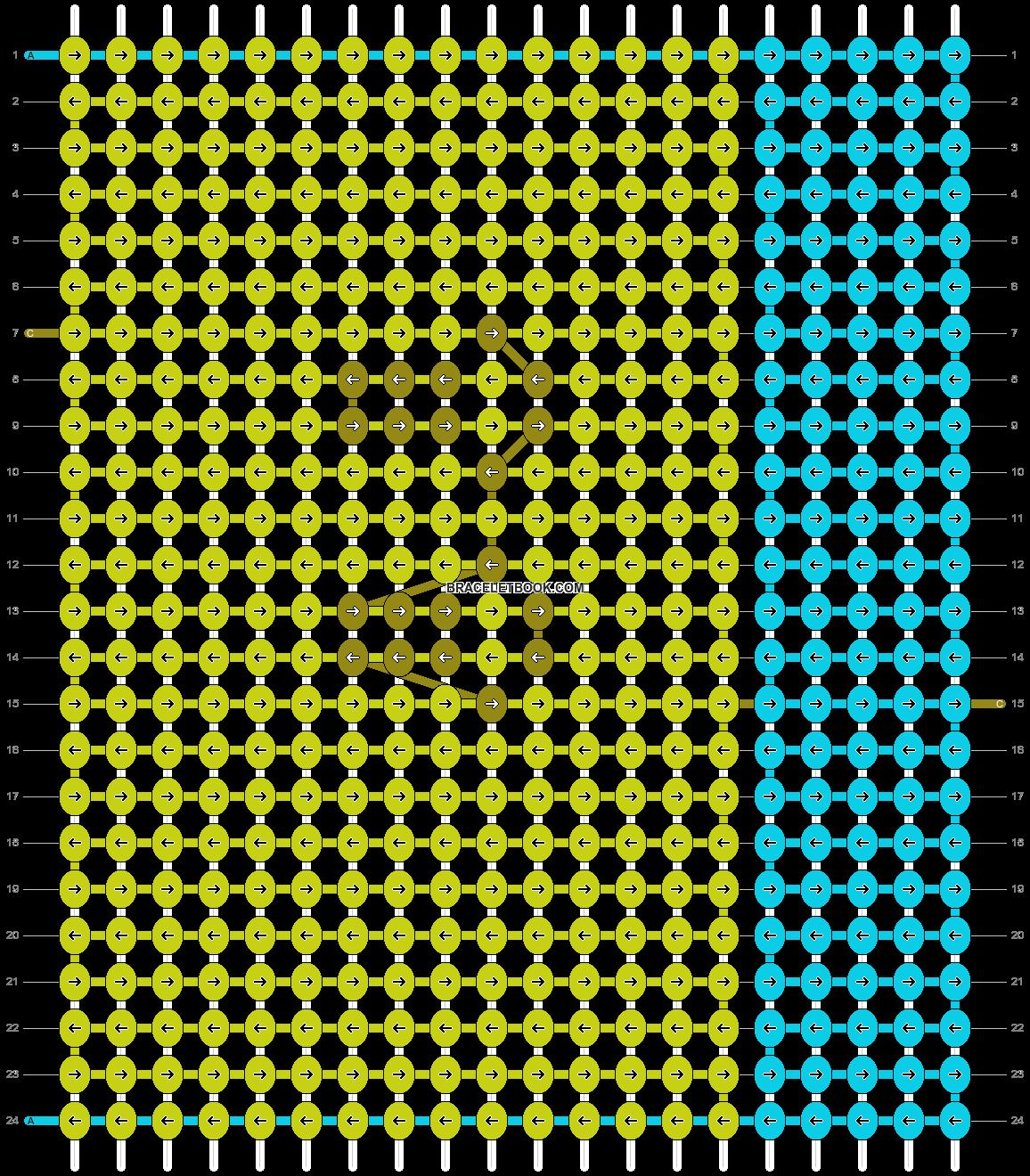 Alpha pattern #10339 pattern