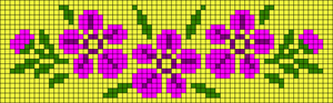 Alpha Friendship Bracelet Pattern #10346