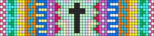 Alpha Friendship Bracelet Pattern #10352