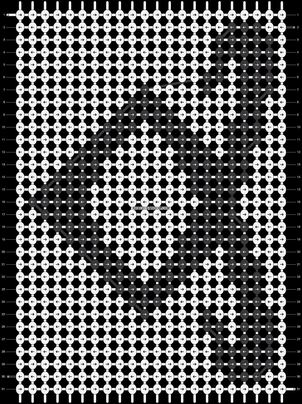 Alpha pattern #10358 pattern