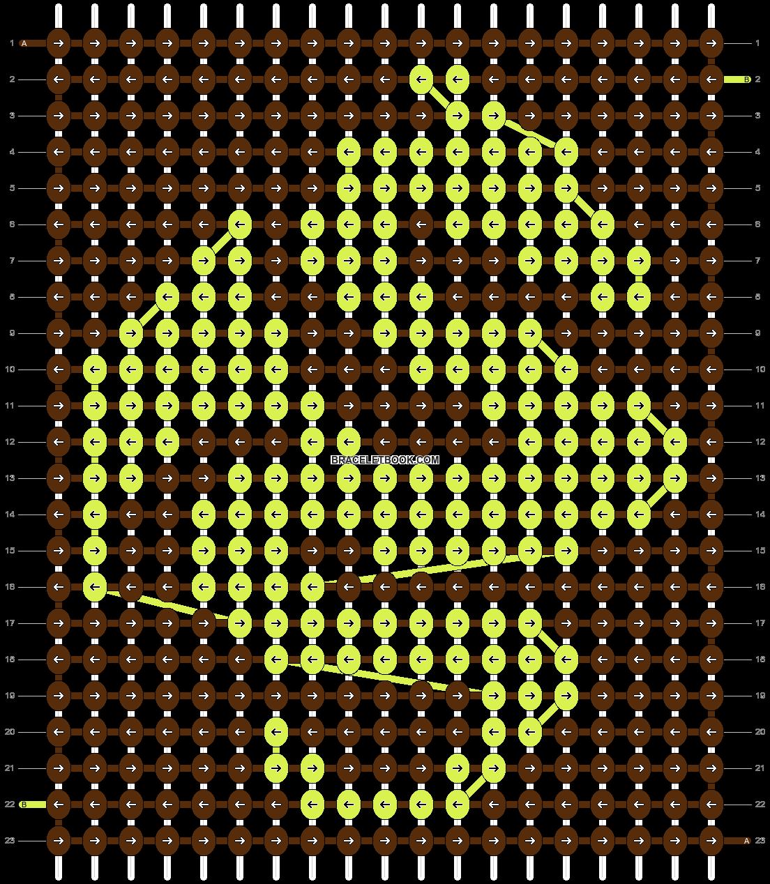 Alpha pattern #10363 pattern