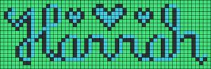 Alpha pattern #10365