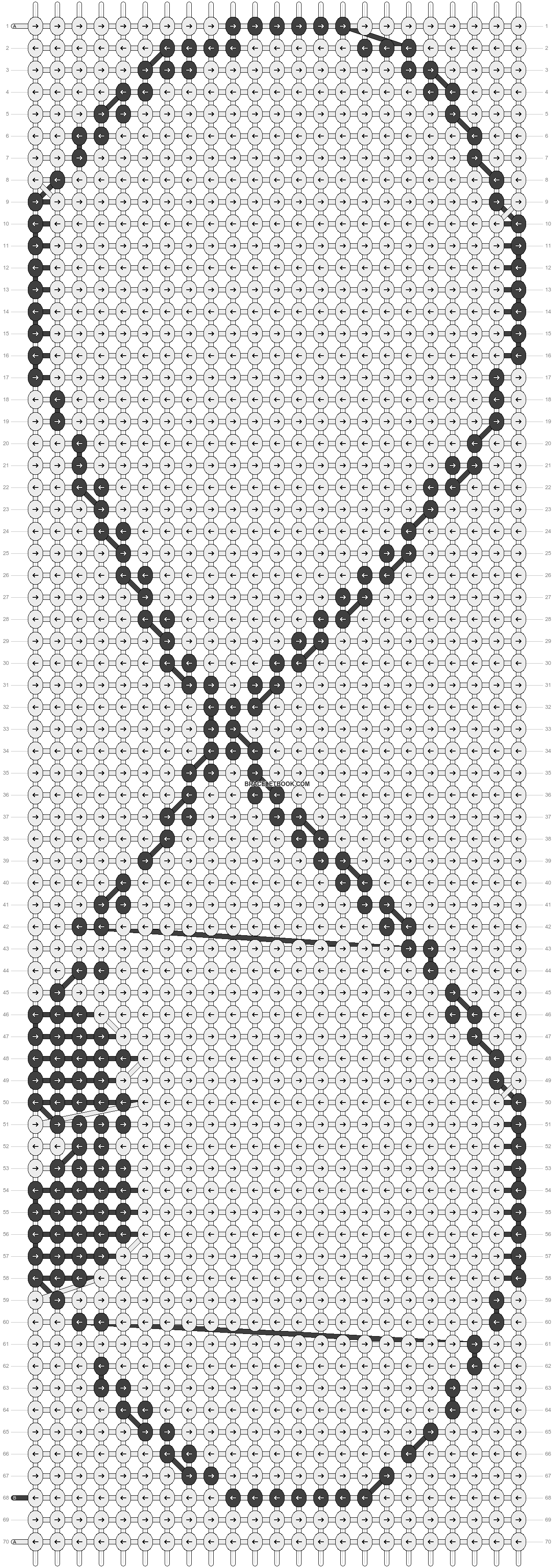 Alpha pattern #10366 pattern