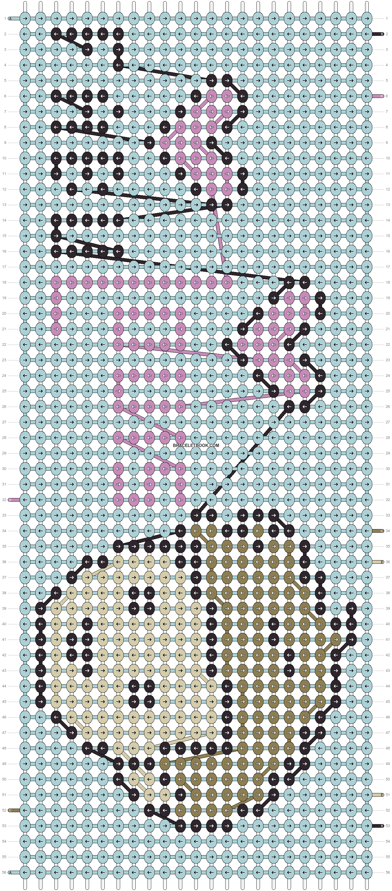 Alpha pattern #10375 pattern