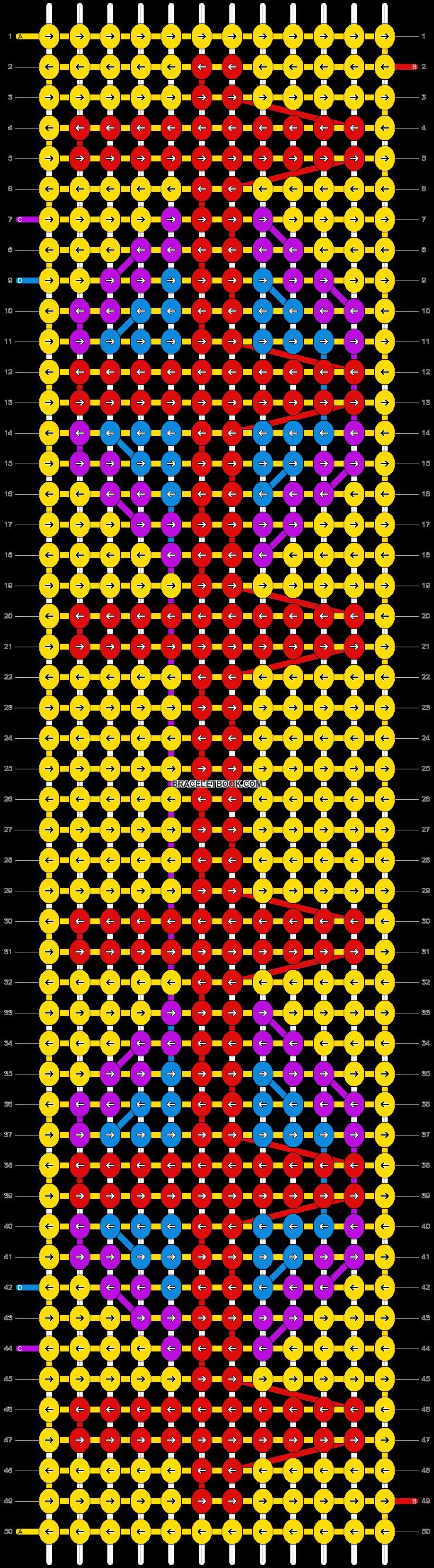 Alpha pattern #10377 pattern