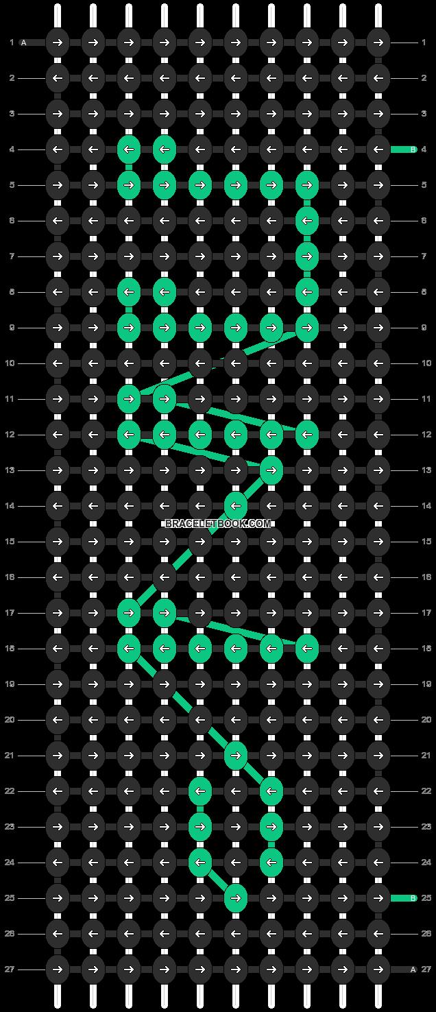 Alpha pattern #10386 pattern