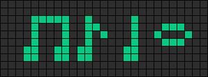 Alpha pattern #10386