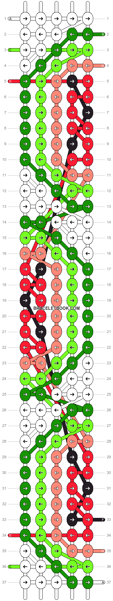 Alpha pattern #10394 pattern