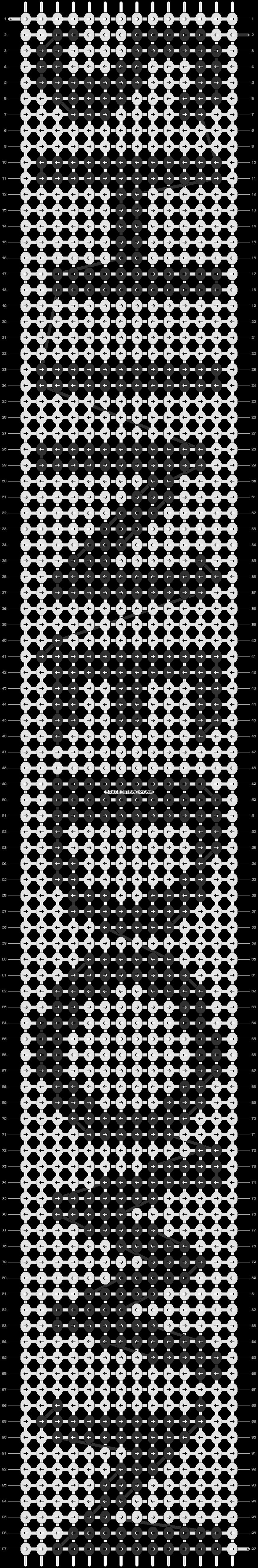 Alpha pattern #10398 pattern