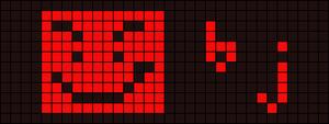 Alpha pattern #10400