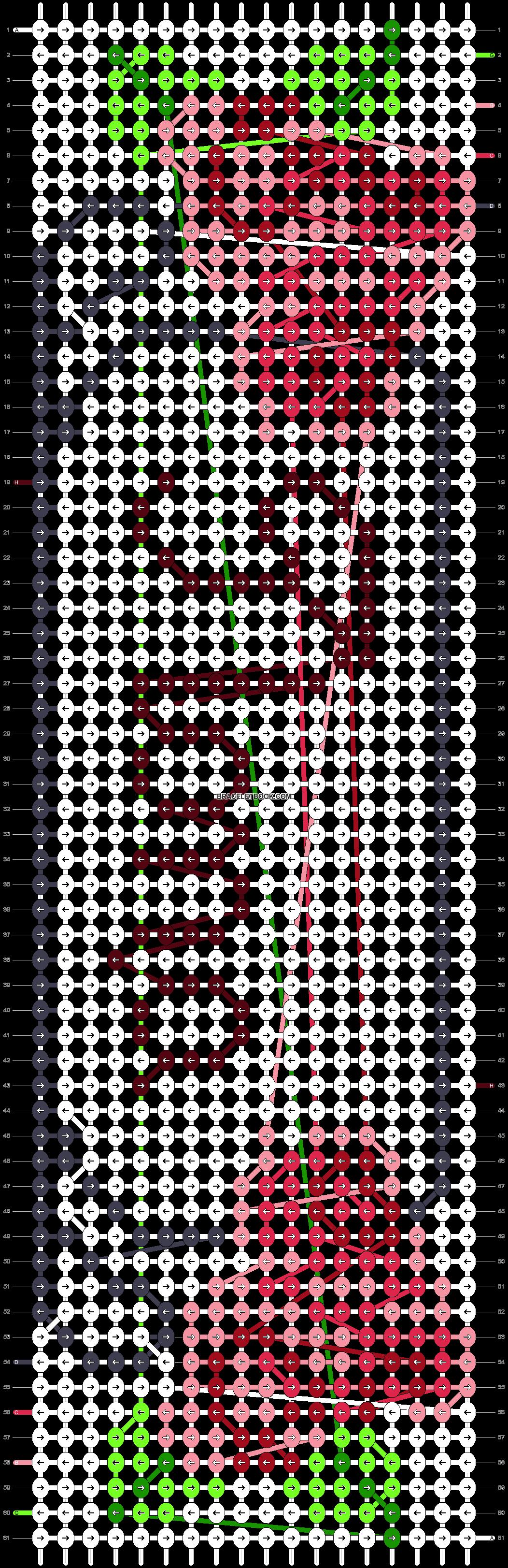 Alpha pattern #10407 pattern