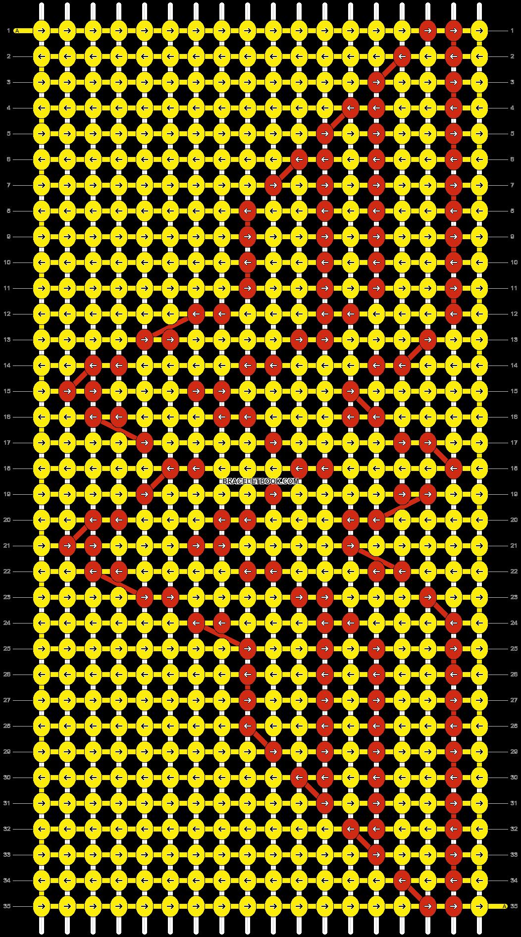 Alpha pattern #10411 pattern