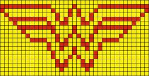 Alpha Friendship Bracelet Pattern #10411