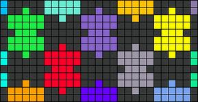 Alpha pattern #10423