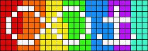 Alpha pattern #10425