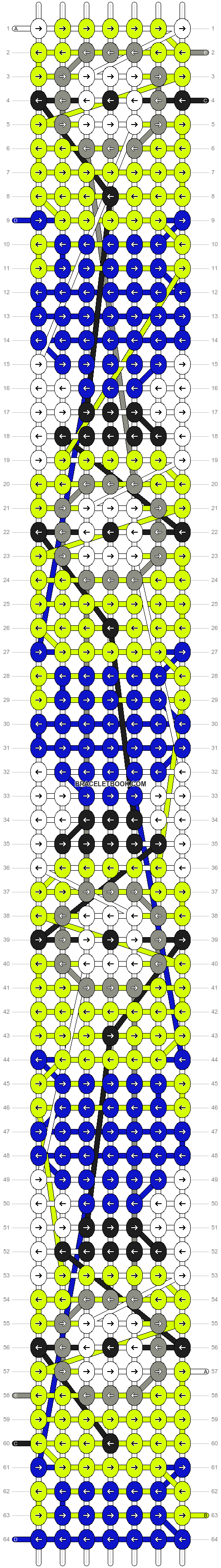 Alpha pattern #10430 pattern